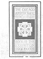 The Chicago Architectural Club. Book of the Exhibition of 1900