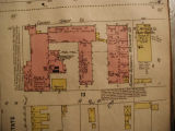 Insurance Map of Aurora, Illinois,  Chicago Corset Company, Sanborn detail, 1897