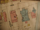Insurance Map of Aurora, Illinois, City Hall, Sanborn detail, 1897