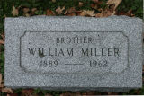Gravestone of William Miller