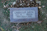 Gravestone of Gabriella Smith