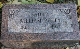 Gravestone of William Petty