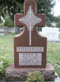 Gravestone of Patrick & Mildred Fitzgerald