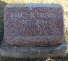 Gravestone of Isabell H. Shepard