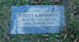 Gravestone of Robert S. Hodgson