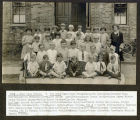 Photo of Class of1926, Miss Vera Hutson (teacher)