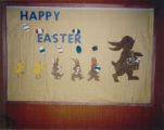 1986 Cary Public Library Easter Display