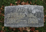 Gravestone of Charles Hoeft