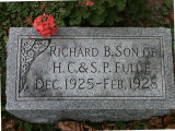 Gravestone of Richard B. Fulde