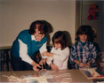 1986 Cary Public Library Macrame Project Program_3