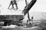 Mucker, strip mining equipment, view 2
