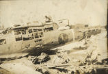 Destroyed Japanese Plane