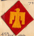 45th Division patch