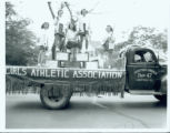 G.A.A. Float, 1947 Homecoming Parade