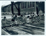 Track Meet with Lake Forest, 1948