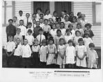 Schools: Chicago Ridge School, students, 1923