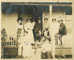 Kennedy home porch gathering, circa 1910