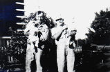 Clifford men holding babies