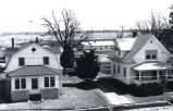 Houses on Lawrence Street, Cherry Valley, Illinois, 1976