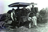 Huber threshing engine
