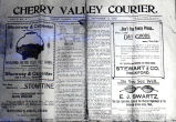 Newspaper, Cherry Valley Courier