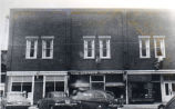 Business block in the 1950's