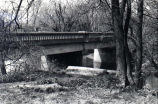 Bridge constructed of cement