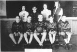 Basketball team, 1946