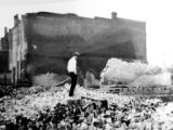 Cherry Valley, Illinois Fire, 1928: Rubble