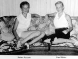 Barb Houghton and Eileen Peterson around 1955