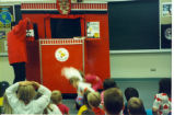 Kids Puppet Show at the Eisenhower Library - 1992