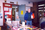 Book Sale at the Eisenhower Library, December 2001