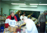Book Sale at the Eisenhower Library, April 25, 1995