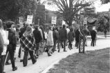 Student anti-Vietnam protest march 1969