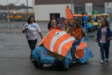 FCCLA Float in Homecoming Parade October 2008