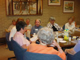 Senior book discussion group at Glenview Public Library