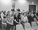 Audience at Glenview Public Library