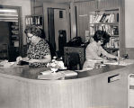 Circulation Desk at Glenview Public Library