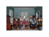 Glenview History Center Dollhouse Living Room