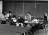 1975.1.1 Graham Hospital School of Nursing Students in Classroom