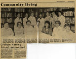 1981.2.Accreditation.1 Graham Nursing School Reaccredited