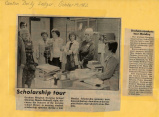1982.2.Scholarships.1 Graham Conducts Tour Monday