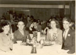 1943.1.3 Graham Hospital School of Nursing students and guests at dinner