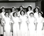 1951.1.3 Graham Hospital School of Nursing class of 1954