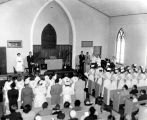 1956.5.2 Graham Hospital School of Nursing Capping Ceremony