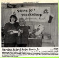1997.2.Community.1 Graham Hospital School of Nursing Helps Santa Jo