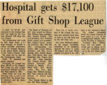 197-.2.Service League.2 Hospital gets $17,100 from Gift Shop League