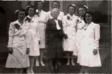 1946.1.2 Graham Hospital School of Nursing graduating class