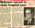 1970.2.Administration.1 Etcheson named to State Hospital