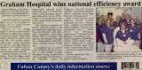 2010.2.Services.1 Graham Hospital wins efficiency award
